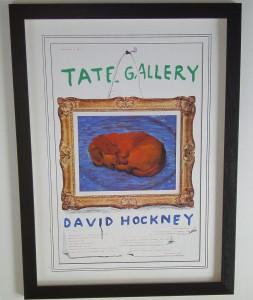 Dachshund by David Hockney
