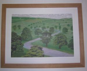 Green Valley by David Hockney
