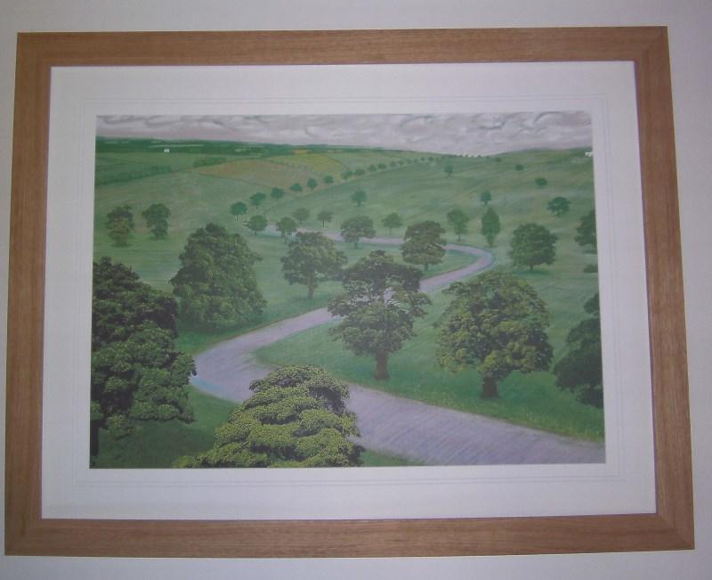 David Hockney Framed Prints - York   Pocklington Framing Services