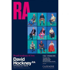 David Hockney at Pocklington Framing