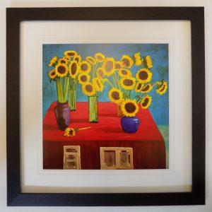 Sunflowers 1996 by David Hockney