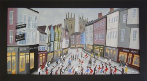 York Shambles Shoppers