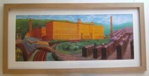 Salts Mill by David Hockney