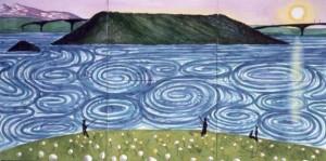 Maelstron Bodoe by David Hockney