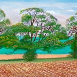 Autumn Trees near Thixendale by David Hockney