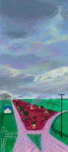 Lesser Trees of Warter by David Hockney