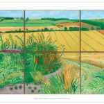 Road to Thwing by David Hockney