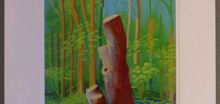 24th of April 2011 – The Arrival of Spring – by David Hockney