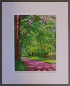 28th of April 2011 - The Arrival of Spring - by David Hockney