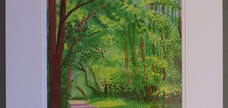 28th of April 2011 – The Arrival of Spring – by David Hockney