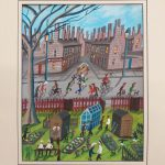 Down the Allotments by John Ormsby