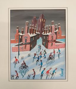 First Snow Fall by John Ormsby
