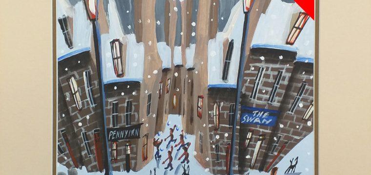 Snow at Penny Inn