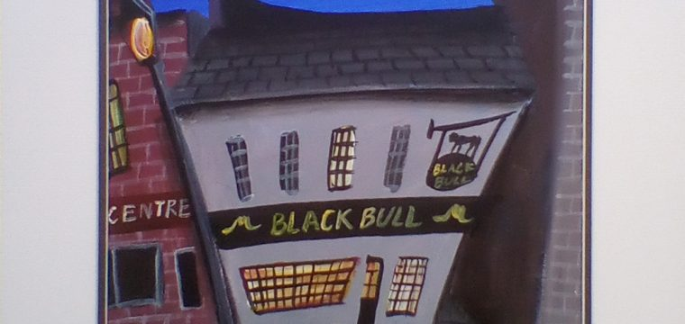 Black Bull by Night by John Ormsby