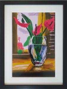 David Hockney iPad - My Window 1