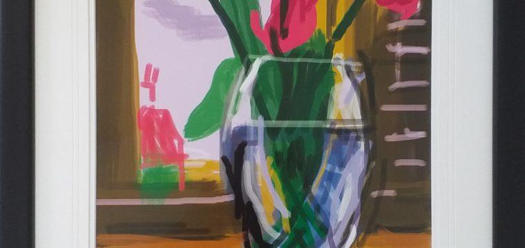 David Hockney iPad – My Window 1