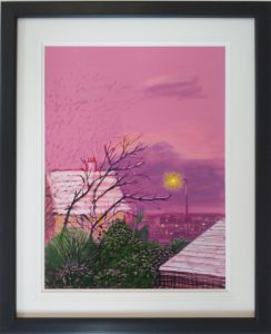 David Hockney iPad - My Window 2