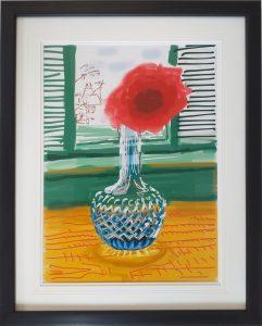 David Hockney iPad - My Window 3