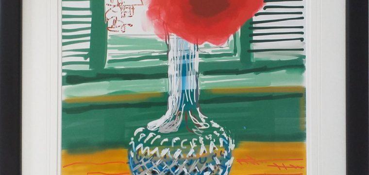 David Hockney iPad – My Window 3